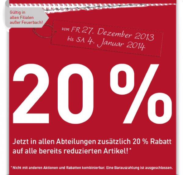 [Bundesweit] Modepark Röther 20% auf bereits reduzierte Ware