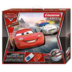 [Amazon.de Blitzdeal] Carrera 20062277 - Go - Disney Cars London Race und Chase o. Vsk für 35,99 €