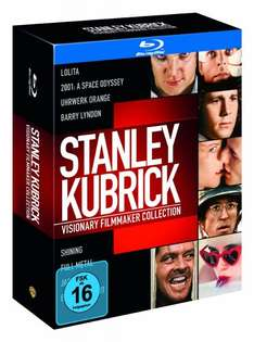 [Amazon.de] Stanley Kubrick - Visionary Filmmaker Collection [Blu-ray] o. Vsk für 26,97 €