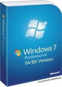 Windows 7 Professional 64 Bit OEM Win 7 Pro Multilanguage Deutsch Englisch