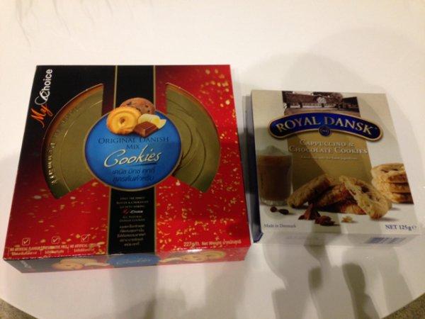 Dänische Cookies für 1€; 1Packung Royal Dansk Cookies geschenkt (Bremen lokal)