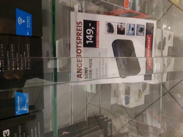 [Lokal?] [Offline] Sony HDR-AS15 Actioncam für 149 € bei Foto Leistenschneider