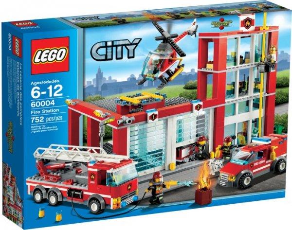 Kaufland (z.B. Hannover): LEGO City 60004 - Feuerwehr-Hauptquartier nur 52,42 Euro