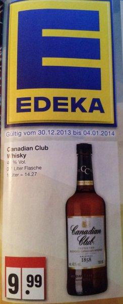 Canadian Club EDEKA Nordwest für 9,99€