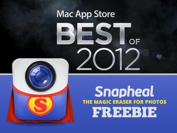 Snapheal Holiday Freebie: Mac App Store Best Of 2012 ?hat $15 gekostet?