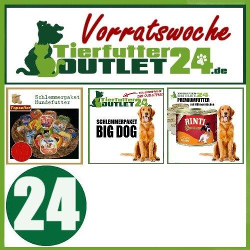tierfutteroutlet24: 90x 300g Hundefutter für 40,50 inkl. Versand
