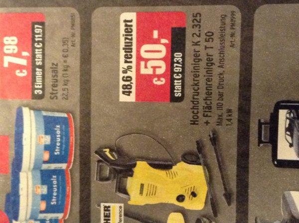 (offline und ggf lokal) kärcher k 2.325 + Flächenreiniger T 50 für 50€ @ A.T.U