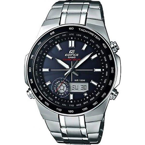 Casio Herren-Armbanduhr Edifice Solar-Kollektion EFA-134SB-1A1VEF