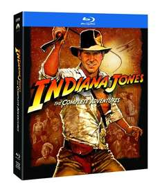 (Amazon.co.uk) Indiana Jones: The Complete Adventures [5 x Blu-ray] für rund 32 € inkl. Versand