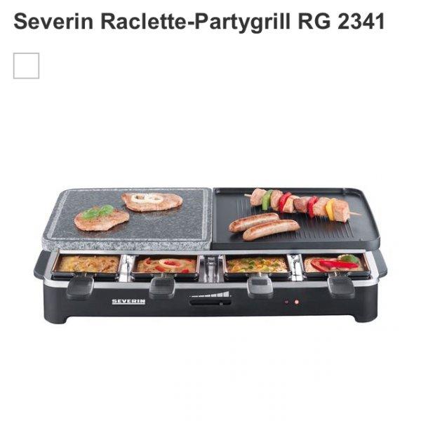 Kaufhof Severin Raclette-Partygrill RG 2341