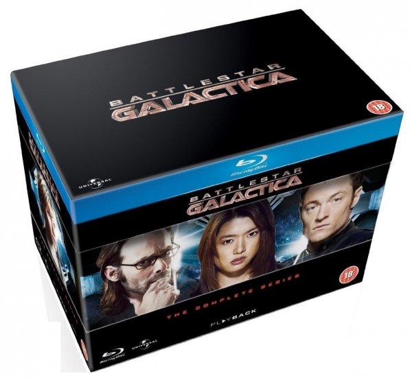 Battlestar Galactica die komplette Serie auf BluRay (UK ohne deutschen Ton)