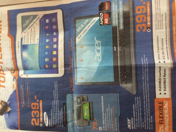 """Hammer Geile Werbung am Saturn Köln Hansaring mit Knaller Angeboten Samsung TAB 3 10"""" 239€ / Samsung Note 3 479€-100€ Cashback :-)))"""