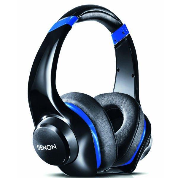 Denon Urban Raver AH-D320 Headphones - Black/Blue