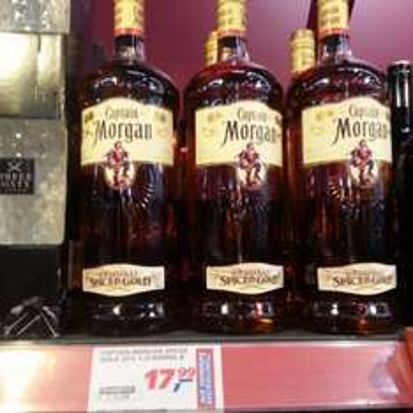 Captain Morgan 1,5 Liter 17,99 € bei Real