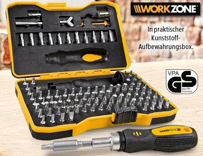 Gutes Werkzeug - Aldi Süd - WORKZONE® Ratschen-Bit-Set, 101-teilig 8,99 €