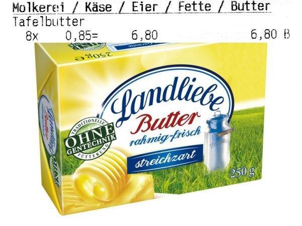 Landliebe Butter Kaufland Dresden