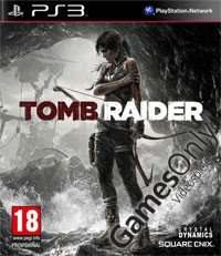 PS3 Tomb Raider 2013