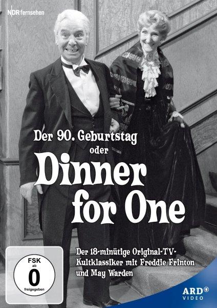DVD - Dinner for One : Amazon.de für Prime Kunden NUR 3,38 € , sonst + 3 € VSK