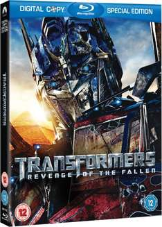 Blu-ray - Transformers: Revenge of the Fallen (3 Discs) für €5,97 [@Zavvi.com]