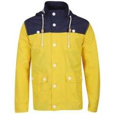 BRAVE SOUL MEN'S LLOYD JACKET - YELLOW/NAVY  bei thehut