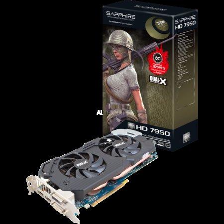 "ZackZack - SAPPHIRE Grafikkarte Dual-Slot 3072 MB ""Radeon HD 7950 with Boost"""