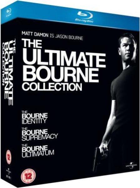 The Ultimate Bourne Collection Blu-ray 3 Blu-Rays 9,95€ @zavvi