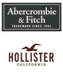Hollister 25% / Abercrombie 30%  Online stores