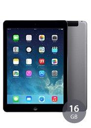 UPDATE: BILLIGER! APPLE iPad Air 16 GB WiFi + 4G INKL. Vodafone LTE Flatrate (4,5/3 GB) für einmalig 1€ + 24,99€ monatlich