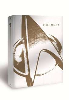 [Amazon.uk] Star Trek I-X Box  [Blu-ray] [Limited Collector's Edition] inkl. Vsk für ca. 94 €