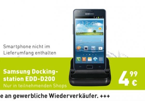 Samsung Dockingstation (EDD-D200) für 5€ [BASE Shop]