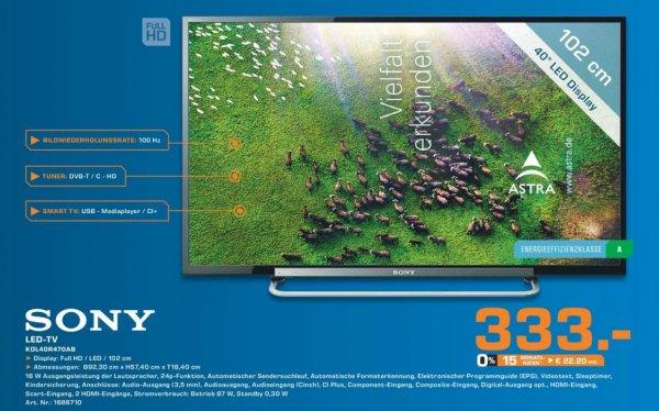 Sony KDL-40R470A 333€ Lokal [Saturn Bochum,Witten]