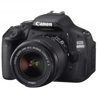 Redcoon: Canon EOS 600D + EF-S18-55 IS II (Objektiv mit optischem Stabi) für 410€