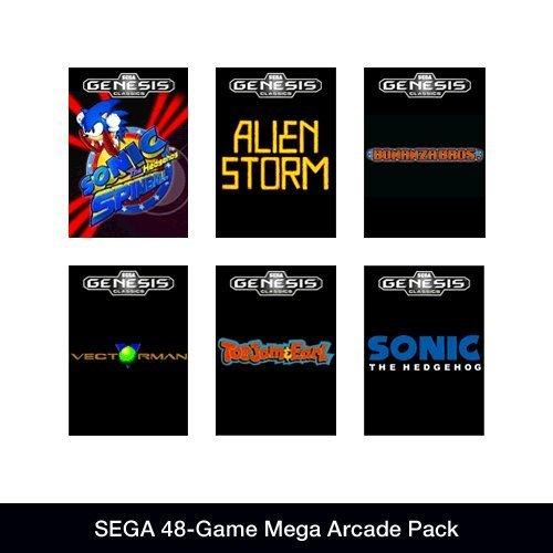 SEGA 48-Game Mega Arcade Pack [Download] für 3,63 € @ Amazon.com