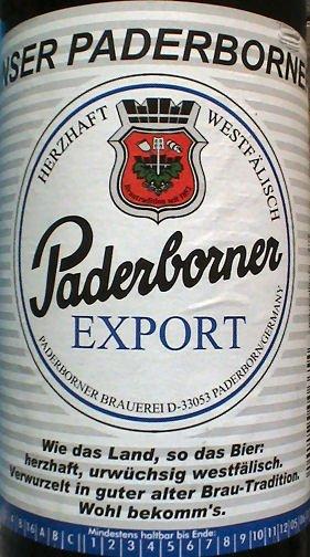 Paderborner Pils + Export 20*0,5L @Famila