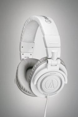 Audio Technica ATH-M50WH Studio-Kopfhörer in Weiß **104.- Euro**