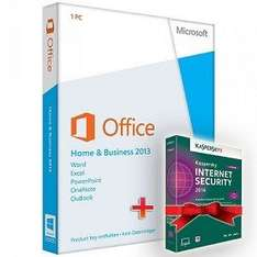 *PROMO*Microsoft Office 2013 Home and Business + Kaspersky Security 2014, ESD, Download Software, Deutsch