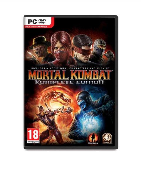 [Amazon.com] Mortal Kombat Komplete Edition für 5,50 Euro