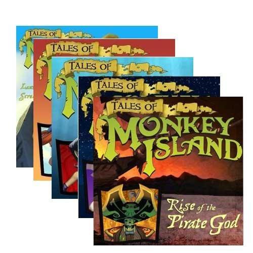 Tales of Monkey Island Ep. 1-5 Bundle (Download) für 3.65€ @Amazon.com
