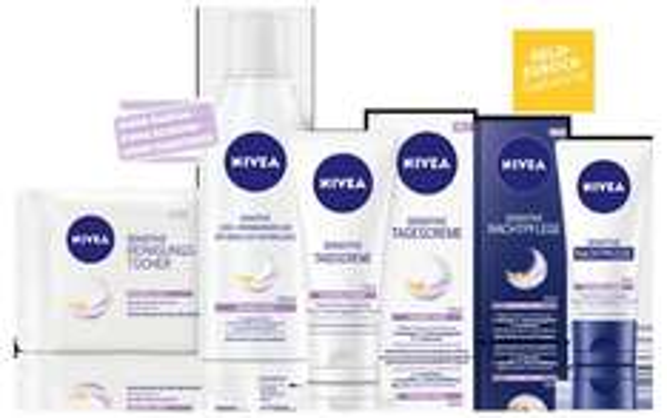 Alle 4 Nivea Sensitive Produkte risikofrei TESTEN bis 30.06.2014 (Geld-zurück-Aktion) + Portokostenerstattung