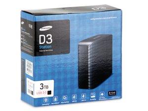3TB, USB 3.0-HDD SAMSUNG D3 STATION STSHX-D301TDB