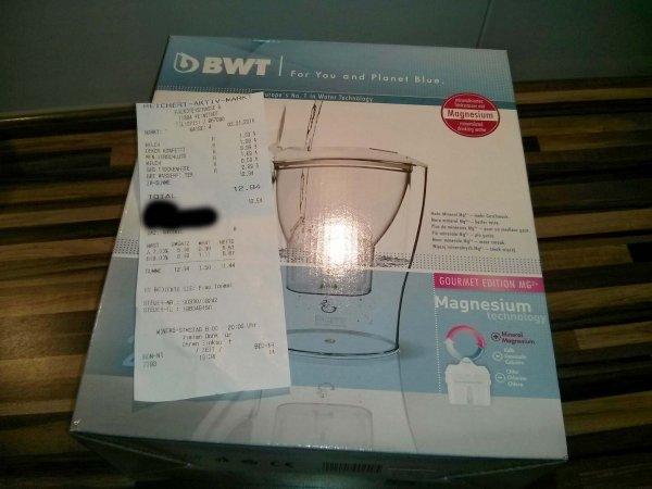 BWT Wasserfilter Initium 2.5 L für 2,99 [Lokal?]