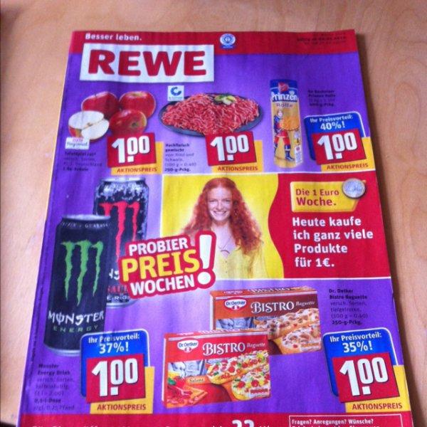 Rewe 1 € Woche ab 06.01.14 ( Diverse Produkte)