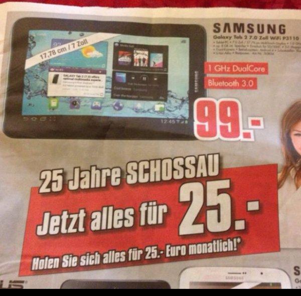 """[Mönchengladbach] Samsung Galaxy Tab 2 7"""" nur 99€ Bestpreis!?"""