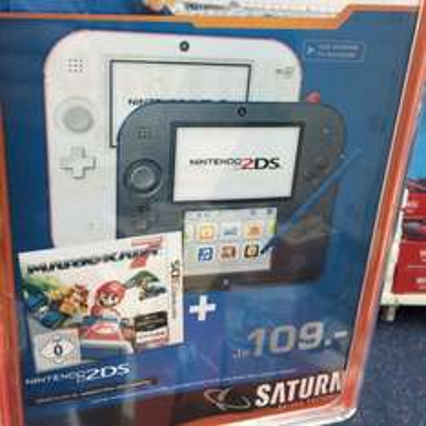 Lokal Saturn Nintendo 2DS + Mario Kart 7 => vermutlich bundesweit Vorort