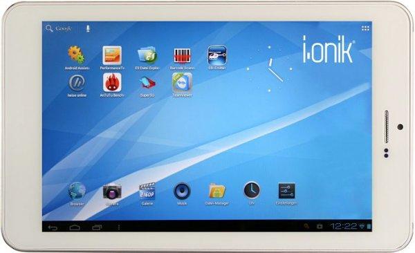 i.onik TP7-1200QC 7 Zoll Tablet mit 16GB und 2048MB RAM für 119 € bei real,- [offline/lokal?]