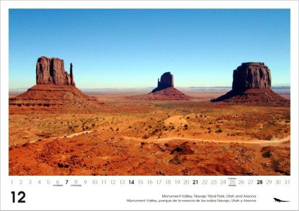57% Rabatt auf Wandkalender 2014 DIN A3 USA, Canada, Mallorca, Mexico etc... 9,90 € - Versand kostenlos