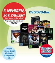 Real (z.B. Hannover): 3 DVD-Boxen u.a. Best of Looney Tunes 1 / Fackeln im Sturm / Hangover Trilogie / Matrix Trilogy / The Big Bang Theory / Superman 5 Film Collection / Man of Steel / Game of Thrones / The Dark Knight Trilogie / Two and a half Men