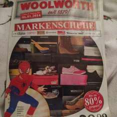 Woolworth Markenschuhe ab 06.01.2014