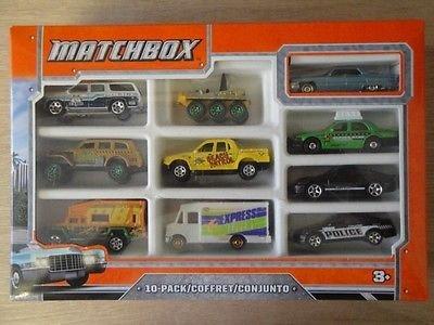 Kaufland (z.B. Hannover): Matchbox Auto-Set 10 Metallguss-Fahrzeuge für 10,00 Euro