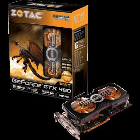 ZOTAC GeForce GTX 480 AMP!